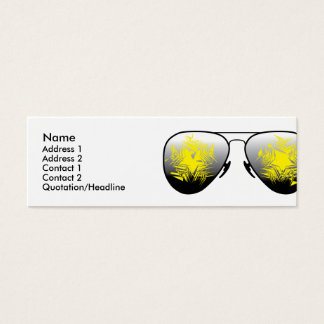 Cartão De Visitas Mini Eu ver Coisa-Louco