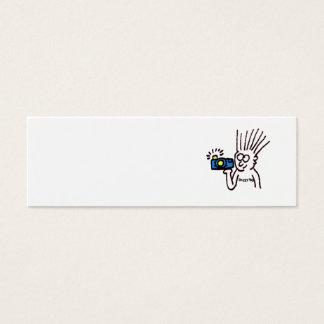 Cartão De Visitas Mini Fotógrafo de DoggyYap