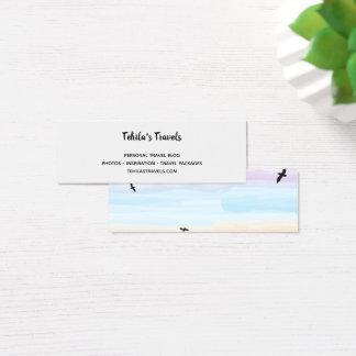 Cartão De Visitas Mini ` Ideal até o horizonte