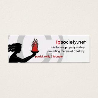 Cartão De Visitas Mini ipsociety.net
