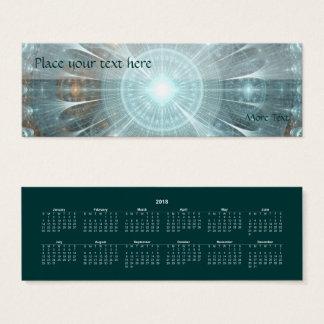Cartão De Visitas Mini Janela espiritual - marcador 2018