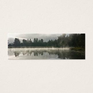Cartão De Visitas Mini Lago mirror, amanhecer