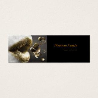 Cartão De Visitas Mini Makup Artist