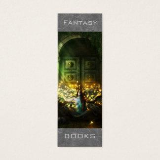 Cartão De Visitas Mini Marcador da fantasia