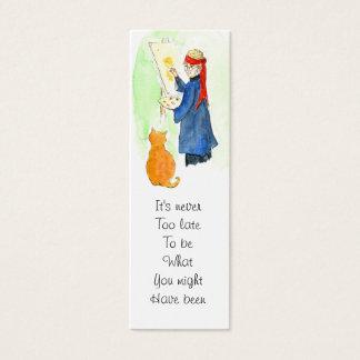 Cartão De Visitas Mini Marcador das citações de George Eliot