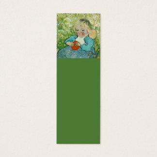 Cartão De Visitas Mini Marcador de Vincent van Gogh