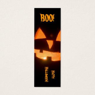 Cartão De Visitas Mini marcador do Dia das Bruxas