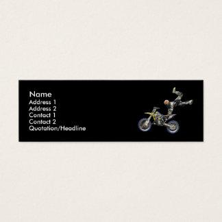 Cartão De Visitas Mini mim moto demasiado