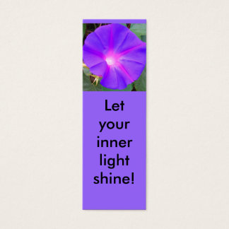 Cartão De Visitas Mini Mini marcador da corriola