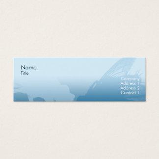 Cartão De Visitas Mini Mosca - magro
