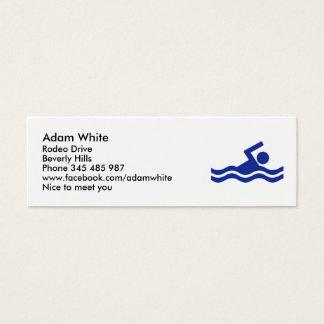 Cartão De Visitas Mini Nadar