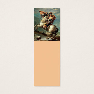Cartão De Visitas Mini Napoleon que cruza os cumes