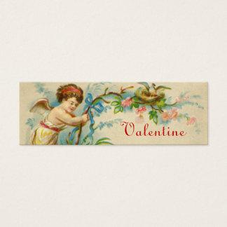 Cartão De Visitas Mini Notas pequenas do amor dos namorados