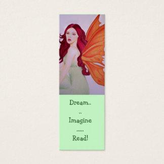 Cartão De Visitas Mini O sonho imagina marcador lidos
