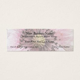 Cartão De Visitas Mini Papoila fundida vento