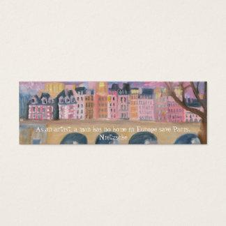 Cartão De Visitas Mini Paris…