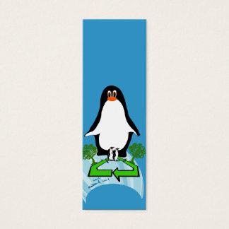 Cartão De Visitas Mini Pinguim global