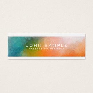 Cartão De Visitas Mini Planície moderna criativa da arte abstracta