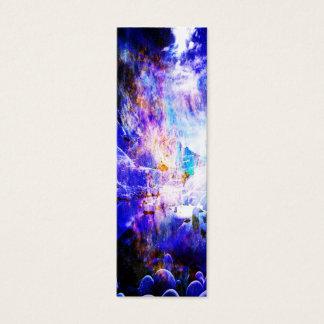 Cartão De Visitas Mini Respire outra vez sonhos da noite de Yule