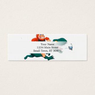 Cartão De Visitas Mini Rex-desenhos animados bigfoot dos bigfoot-desenhos