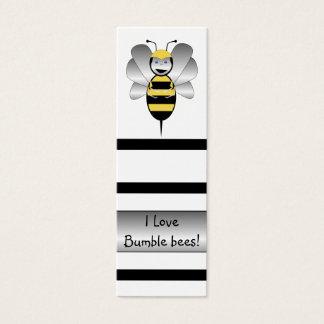 Cartão De Visitas Mini Robobee Bumble o marcador da abelha