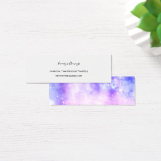 Cartão De Visitas Mini Sonhador