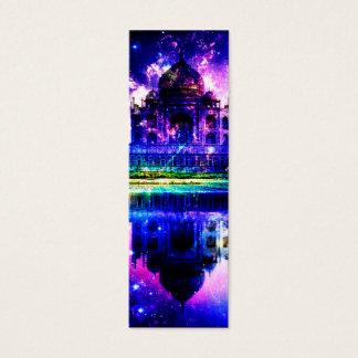 Cartão De Visitas Mini Sonhos iridescentes de Taj Mahal