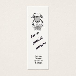 Cartão De Visitas Mini Tag do presente - pessoa especial (2)