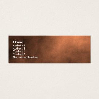 Cartão De Visitas Mini Tempestade de areia marciana