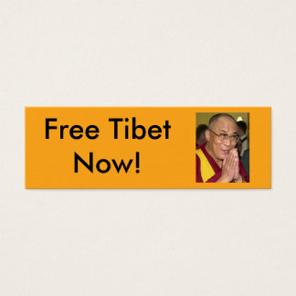 Cartão De Visitas Mini Tibet livre agora!
