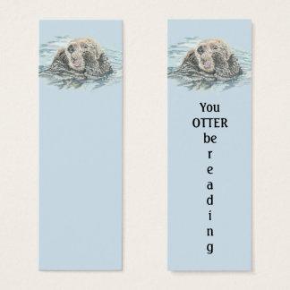 Cartão De Visitas Mini Você LONTRA esteja lendo o marcador do