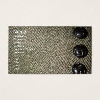 Cartão De Visitas Mistura de lã