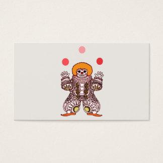 Cartão De Visitas Mnanipulação do palhaço