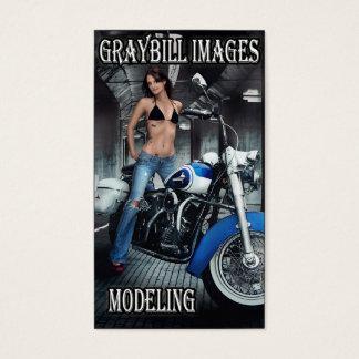 Cartão De Visitas Modelagem das imagens de Graybill