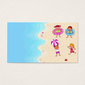 Cartão De Visitas modelo bonito agradável bonito para crianças