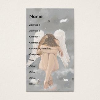 Cartão De Visitas Modelo do anjo