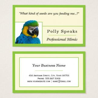 Cartão De Visitas Modelo Freelance aninhado borda do verde limão