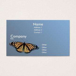 Cartão De Visitas Monarca