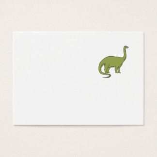 Cartão De Visitas Mono linha do Brontosaurus