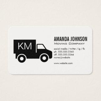 Cartão De Visitas Monograma/caminhão incorporado