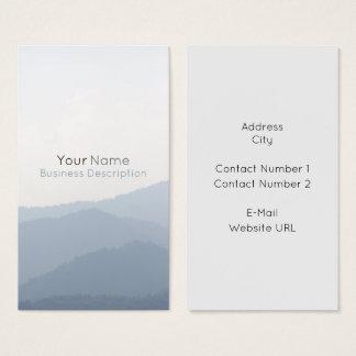 Cartão De Visitas Montanhas