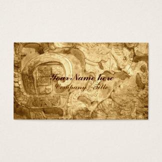 Cartão De Visitas Motivo do Maya