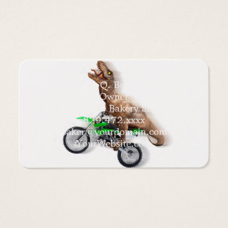 Cartão De Visitas Motocicleta do rex de T - passeio do rex de t -
