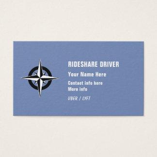 Cartão De Visitas Motorista de Rideshare