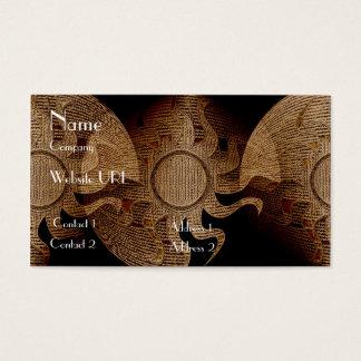 Cartão De Visitas Mundos do bordado