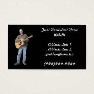 Cartão De Visitas Músico