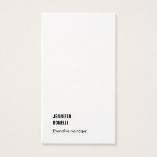 Cartão De Visitas Na moda luxuoso grosso moderno minimalista