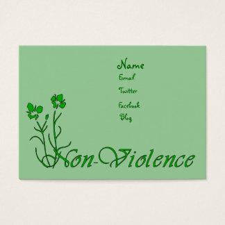 Cartão De Visitas Não-Violência