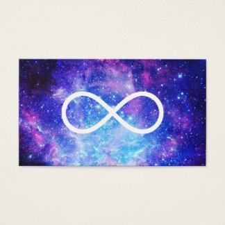 Cartão De Visitas Nebulosa do símbolo da infinidade