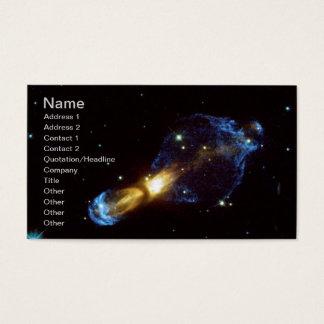Cartão De Visitas Nebulosa podre do ovo de NASAs
